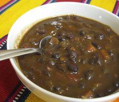 Black Bean Soup (w/ Recipe) http://www.paleorecipecbook.tumblr.com