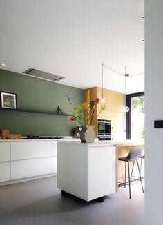 beautiful home interior Kitchen Furniture, Kitchen Interior, Furniture Design, Home Design Decor, House Design, Interior Design, Home Decor, Modern Family House, Beautiful Houses Interior