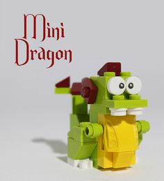 lego mini dragon