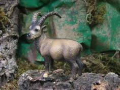 SAFARI LOT SCHLEICH SAFARI LTD. TM K&M  Schleich Retired Ibex Animal FigurineIBEX FIGURES TOYS ANIMALS ...