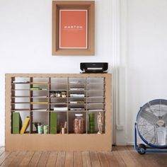 Cardboard Furniture - DIY and Crafts Ideas