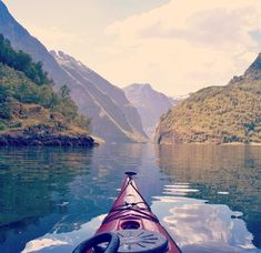 Oh - to be paddling and experiencing a view like this.