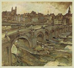 Henri Jonas, De Servaasbrug