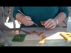Tutorial for covering switchplates with Sculpey polymer clay