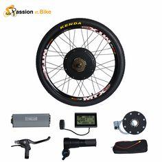 """열정 48 볼트 1500 와트 모터 Bicicleta 전기 자전거 자전거 변환 키트 20 """"24"""" 26 """"700C 28"""" 29 """"후면 휠"""