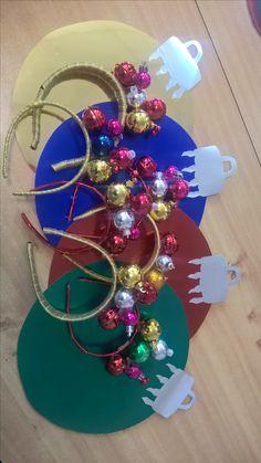 Christmas ornament costume for preschool girls.