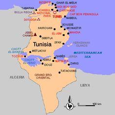 SIDI BOU SAID MAP | TUNIS, TUNISIA, NORTH AFRICA | Pinterest