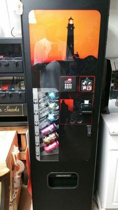 Working Like New Soda Vending Machine