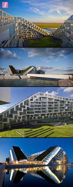 8 Building in Copenhagen by BIG