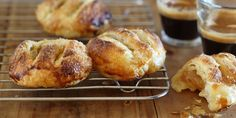 Try this Dried Pear and Glace Ginger Eccles Cakes recipe by Chef Maggie Beer. Bake Off Recipes, Cake Recipes, Great Australian Bake Off, Eccles Cake, Dried Pears, Sugar Eggs, Tray Bakes, Brunch, Vegetarian