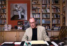 Writer's studio of Harold Pinter. West London. 2007. NY Times