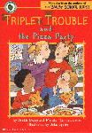 Triplet Trouble and the Pizza Party by Debbie Dadey.  Will the students in Mr. Tucker's class behave well enough to earn a pizza party?  A fun 1st-2nd grade short chapter book.