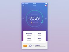 Student App designed by Bagus Fikri for Fikri Studio. Connect with them on Dribbble; the global community for designers and creative professionals. Game Ui Design, Ios Design, Health And Fitness Apps, Health App, Student Dashboard, Student App, Mobile App Design, Mobile Ui, Mobile Project