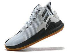 best loved 098ae a9b7d Latest adidas D Rose 9 white black Gum