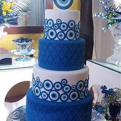 35th Birthday, Birthday Cakes, Birthday Ideas, Party Rock, Perfect Party, Evil Eye, Baby Boy Shower, Vanilla Cake, Cake Decorating