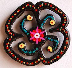 Black flower-flor negra- xochitl