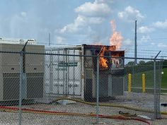 Emergency Management, Storage Facility, Energy Storage, Nuclear Power, North America, Past, Scene, Fire