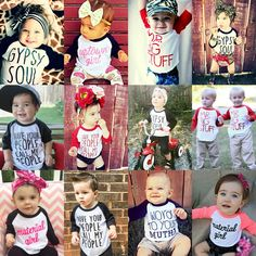 The Cutest Baby & Kids Clothes EVER! #LivAndCo www.LivAndCo.com