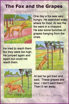 Moral Stories: The Fox and The Grapes