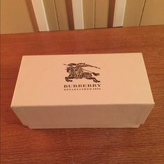 Burberry Sunglass Box