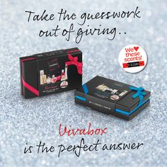 Check out this Vivabox- take the guess work out of giving!