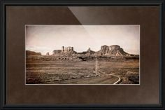 """""""The Road To The Valley"""" by Beautifully Scene Images, Grafton // The road to the valley in Monument Valley, Utah. // Imagekind.com -- Buy stunning fine art prints, framed prints and canvas prints directly from independent working artists and photographers."""