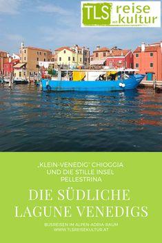 Nicht nur die Stadt Venedig selbst ist auf Holzpfählen gebaut, sondern auch ihre kleine Schwester Chioggia unweit von ihr. Es darf ein wunderbares Potpourri aus Lärm und Stille und aus speziellen Geschichten rund um die südliche Lagune Venedigs erwartet werden.  #busreisen #kärnten #slowenien #italien #kroatien #österreich #ausflug #tagesausflug #tagesfahrt #sehenswürdigkeiten #führung #kultur #kunst #venedig #chioggia #insel #inselfahrt #pellestrina Potpourri, Coach Tours, Baby Sister, Slovenia, Day Trips, Travel Advice, Island, Culture, Bowl Fillers