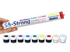 SO-Strong Color Tint 9-Pack Color Sampler – makesly