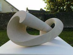"""""""Hélix, pierre calcaire, Vincent Queuvin"""