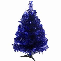 Blue Color Tree for Christmas*