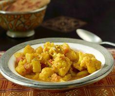 Karfiol-Kartoffel-Curry