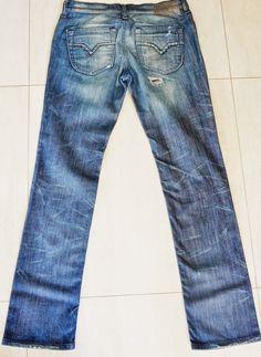 Calça Jeans Diesel Feminina - CAFÉ BRECHÓ ONLINE: Brechó de Roupas de Marca, Grife, Luxo e Chique