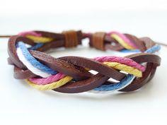 Hey, I found this really awesome Etsy listing at https://www.etsy.com/listing/81550133/braided-bracelet-mens-bracelet-womens