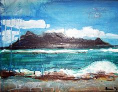 Table Mountain by BeeandHoney on Etsy, $45.00