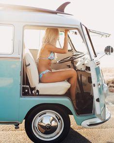 Volkswagen – One Stop Classic Car News & Tips Volkswagen Minibus, Vw T1, Volkswagen Transporter, Vw Caravan, Bus Camper, Campers, Vespa, Kombi Hippie, Combi Ww