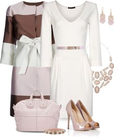 """White Dress"" by yasminasdream on Polyvore"
