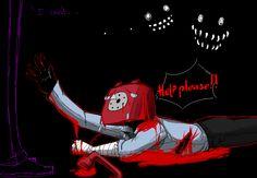 NOOOO PHONE GUY!!!! SOMEONE PLEASE HELP HIM!!!! D,X. Purple why can't you help him?!?! Please help him!!!!