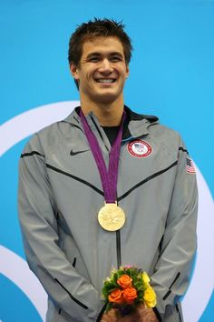 Nathan Adrian)) Hey I'm Nathan Adrian! I'm 28 years old! I have been in five Olympic Games! My best friends are Michael, Ryan and Conor