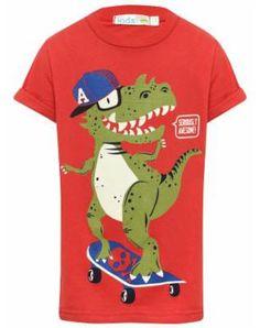 skater dino Boys Summer Outfits, Summer Boy, Boy Outfits, Kids Swimwear, Birthday Shirts, Kids Wear, Kids Boys, Pajama, Graphic Tees
