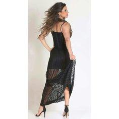 It's Friday!  Vestido Longo Preto - ❤ Página: Vestidos Tam:P e M✅ R$ 870,00  Compre pela loja virtual ou whats www.loucacomomequeres.com.br 61 - 8264-6852  #uselouca #loucacomomequeres #LCMQ #compreagora #Vestido   #moda #fashion  #fashiondesigner #brasilia #brasiliandesigner #streetstyle #style #tendência