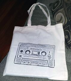 """The Replacements """"i'll Be You"""" cassette single tote bag!!"""