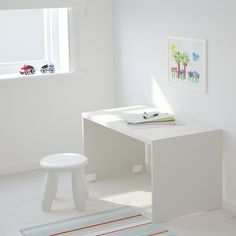 IKEA - STUVA, Bench, , You can transform the bench into an extra storage space by simply adding a storage box underneath. The storage box is sold separately.Stands evenly on an uneven floor; At Home Furniture Store, Modern Home Furniture, Affordable Furniture, Furniture For Small Spaces, Diy Furniture, Banco Ikea, Ikea Toy Storage, Extra Storage Space, Storage Spaces