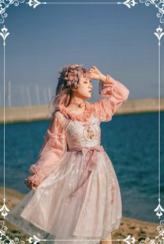 Girls Petticoat, Lolita Dress, Girl Poses, Lolita Fashion, Victorian Dresses, Photoshoot, Harp, Clothes For Women, Studio