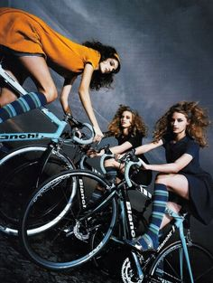 Bike in Vogue fashion