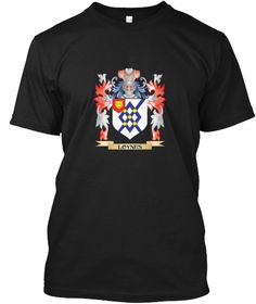 Loynes Coat Of Arms   Family Crest Black T-Shirt Front - This is the perfect gift for someone who loves Loynes. Thank you for visiting my page (Related terms: Loynes,Loynes coat of arms,Coat or Arms,Family Crest,Tartan,Loynes surname,Heraldry,Family Reunion,L ...)