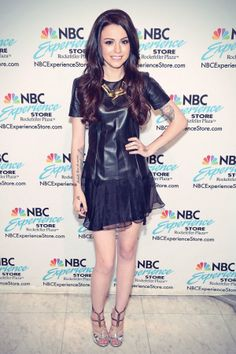 Cher Lloyd promotes the new CD Sorry I'm Late