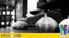 """Des potirons et autres délices sont présents sur notre stand """"Tiles & Food Novoceram"""". Un régal visuel et une immersion complète dans le monde de la nourriture. Plus d'infos sur : http://www.novoceram.fr/blog/evenements-novoceram/novoceram-stand-cersaie-2014 #TILESANDFOOD #CERSAIE2014 #CERSAIE"""