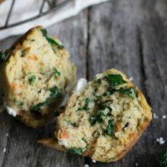 I+Quit+Sugar+-+Sweet+Potato,+Kale+++Feta+Muffins