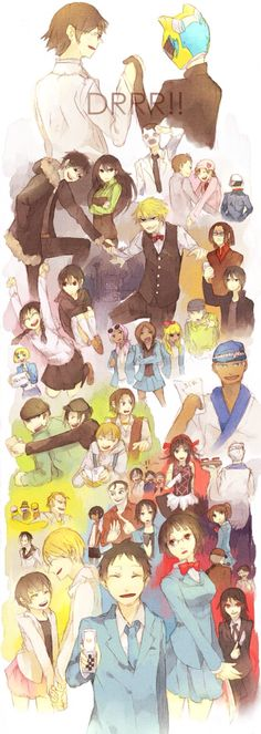 Durarara! Characters