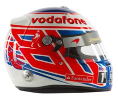 F1 Helmet 2012 Jenson Button (Vodafone McLaren Mercedes)                                                                                                                                                                                 もっと見る